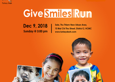 THS – TURKEY DASH VIETNAM – GIVESMILESRUN 2018