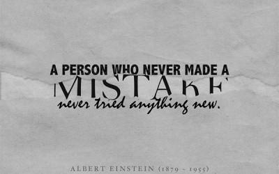Make mistake – It is ok