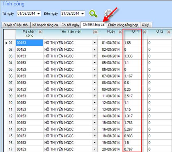 Dùng phần mềm nào để lập bảng chấm công tăng ca chuẩn nhất? 3
