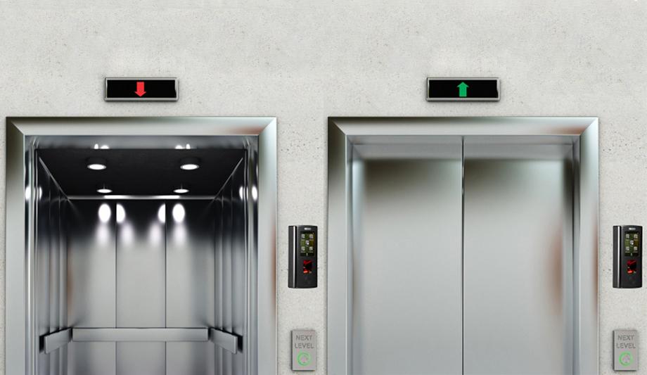 Hệ thống kiểm soát ra vào thang máy