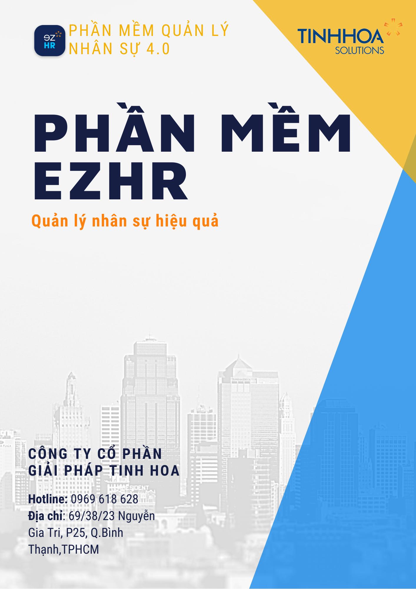 Phầm mềm EZHR