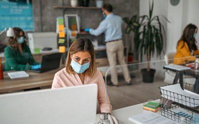 Ứng dụng mô hình văn phòng phối hợp – hybrid office